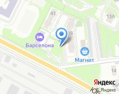 Компания Спортивно - оздоровительный теннисный центр псковской региональной общественной организации на карте города