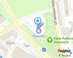 Компания АЗС Лукойл на карте города