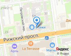 Компания Бренд на карте города