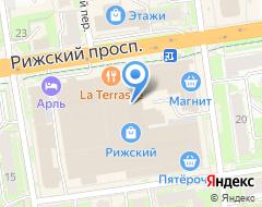 Компания Вираж Auto на карте города