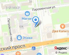 Компания АвтоМир 60 на карте города