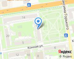 Компания Анфас Декор на карте города