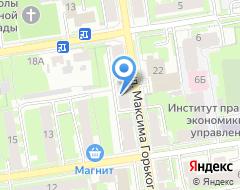 Компания Профит+ на карте города