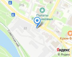Компания АВТО-Макси на карте города