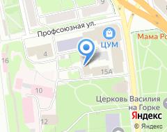 Компания Стройпрогресс на карте города