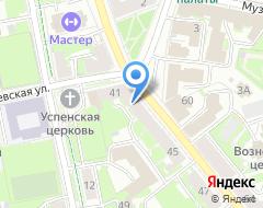 Компания Псковская лепная мастерская на карте города
