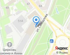 Компания Центральная на карте города