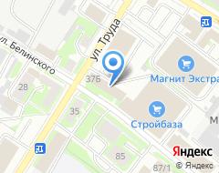 Компания ИнвестСтрой на карте города