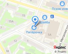 Компания Планета на карте города