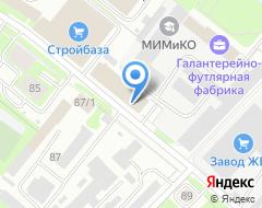 Компания Сегмент-Сталь на карте города