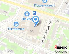Компания Мир одежды и обуви на карте города