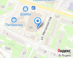 Компания Эталон на карте города