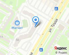 Компания ФОРТЕ-плесков на карте города