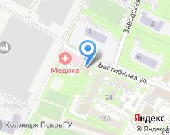 Компания ТЕКТОС на карте города