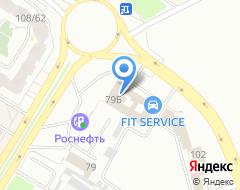 Компания Белый сервис на карте города