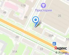 Компания Вершина Псков на карте города