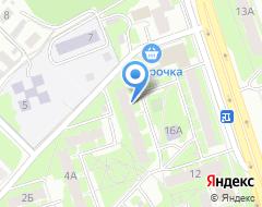 Компания Арт-интерьер на карте города