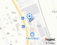 Компания Белорусско-Псковский центр строительных материалов на карте города