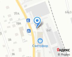 Компания Фаубеха на карте города