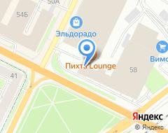 Компания Метрика на карте города