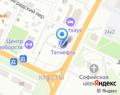 Компания АЗС Газпромнефть-Урал на карте города