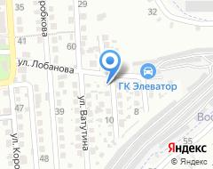 Компания Оренбургская на карте города
