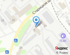 Компания Автомир Тверь на карте города