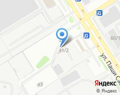 Компания Тверь Моторс на карте города