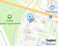 Компания Тверца на карте города