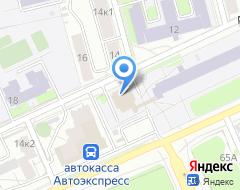 Компания МКБ Москомприватбанк на карте города