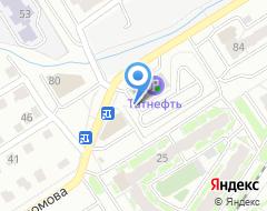 Компания Платная автостоянка на карте города