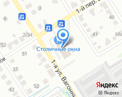Компания Шинавто на карте города