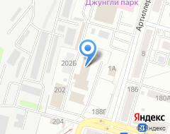 Компания КиТ на Заставе на карте города