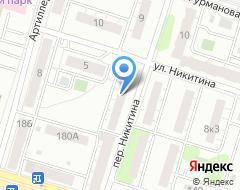 Компания Адвокатская палата Тверской области на карте города
