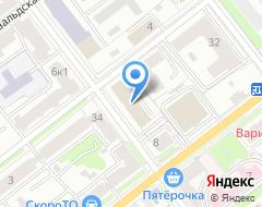 Компания СФЕРА-Т на карте города
