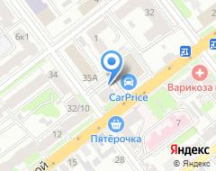Компания Голден Хаус на карте города