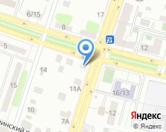 Компания Автомир Заволжский на карте города
