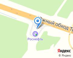 Компания АЗС НК Роснефть на карте города