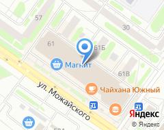 Компания Тверьуниверсалбанк на карте города