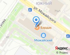 Компания Тверской ломбард на карте города