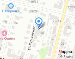 Компания Пушкино на карте города