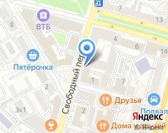 Компания АНКЛАВЪ на карте города