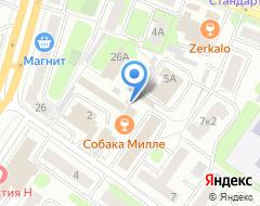 Компания ТверьАвтоСервис на карте города