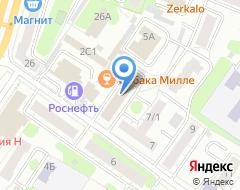 Компания Zig-Zag на карте города