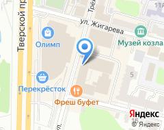Компания Нотариус Лобанова М.Д на карте города