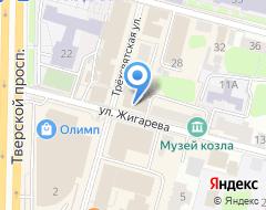 Компания ДеЮре на карте города