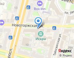 Компания Банк ВТБ 24 на карте города