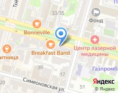 Компания ТрэйдЭстейтПроджект на карте города