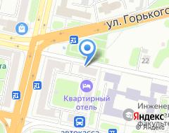 Компания ИНВЕСТ ГРУПП на карте города