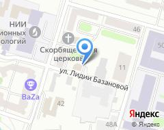 Компания Автомойка на Лидии Базановой на карте города